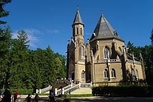 Schwarzenberská hrobka Třeboň - ubytování Třeboň
